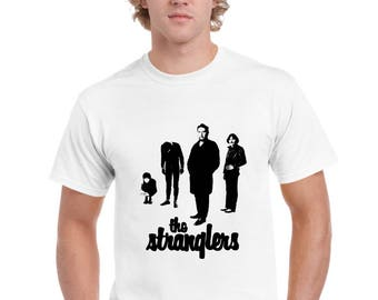 The Stranglers 'Black and White' T Shirt