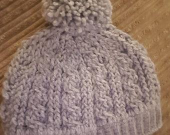 Cable Stitch bobble hat