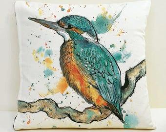 Kingfisher Cushion Cover