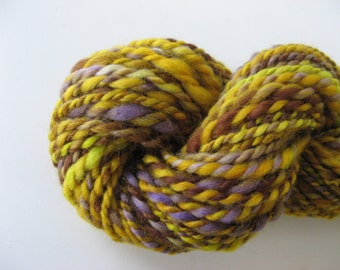 Harvest handspun yarn