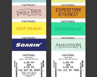 Fastpass Bookmark