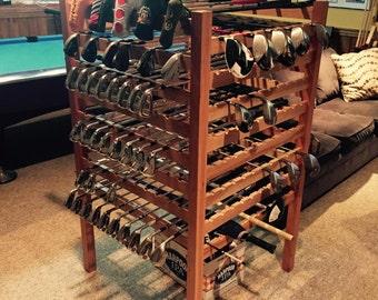 Cherry Golf Club Display Rack