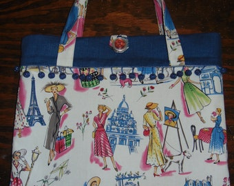 Springtime in Paris handbag