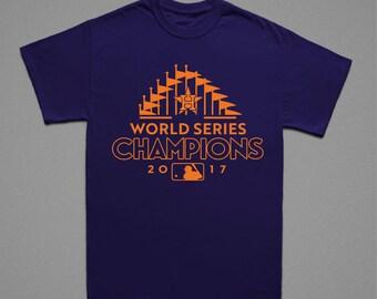 HOUSTON WORLD SERIES T Custom Sports Baseball Champions Trophy