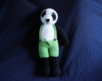Wang, the panda crochet