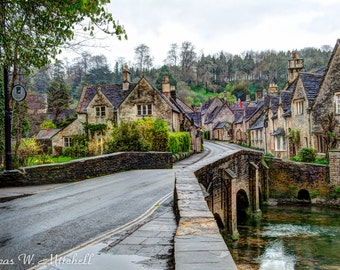 Loose Prints,Castle Combe,England,Fine Art Photography