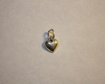 Sterling Silver Heart Mini Charm