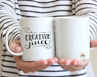 Creative Juice Cute Artsy Imaginative Ceramic Coffee 11 oz. Mug Drink Cup