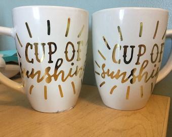 Sunshine Mug Set