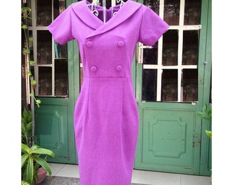 LIZ pencil dress or swing made to measure ALL SIZES classic