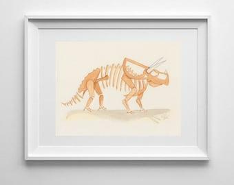 Original Development Artwork from 'We Love Dinosaurs'