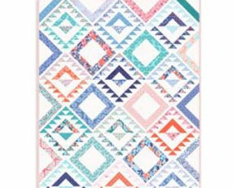 Nomad Quilt KIT-by Kate Spain featuring Voyage fabrics