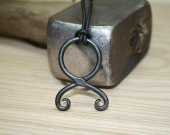Hand Forged Troll Cross