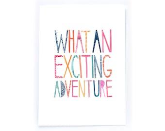 Adventure - archival art print