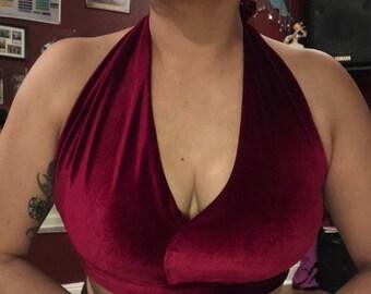 Tribal belly dance bra/top