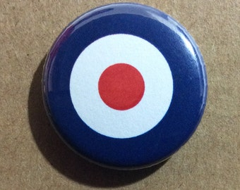 "1"" Button - Target"