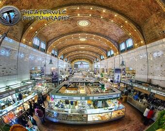The West Side Market, Cleveland Ohio  Fine Art  Photographic Print