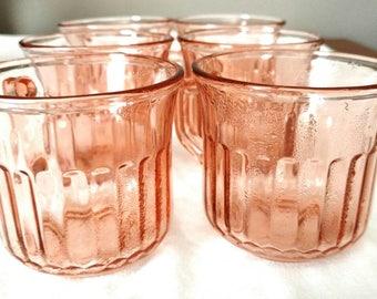 Vintage Blush glasses