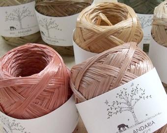 Eco Andaria Yarn 55 Colors to Choose From - Japanese Hamanaka Yarn