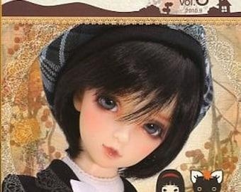 Koame's Super Dollfie Chikko Custom Lesson vol.03 Japanese Craft Books Kawaii Lolita Makeup Doll、