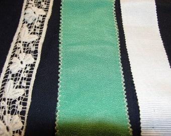 Vintage Sewing Notions Trim - 3 pcs
