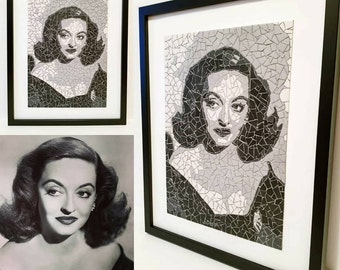 Portrait of Bette Davis playing Margo in the movie All about Eve