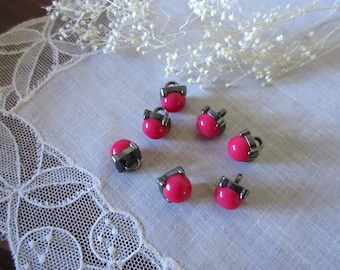 Vintage Buttons  , Pink Buttons  ,  Scrap-booking ~ Jewelry Making ~ May include pink , baby pink  etc. buttons