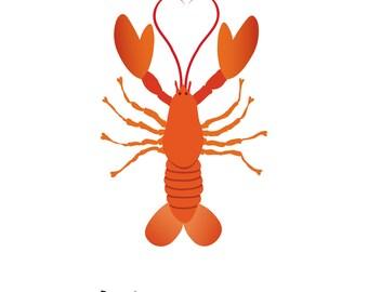 Lobster (4x4 Card)