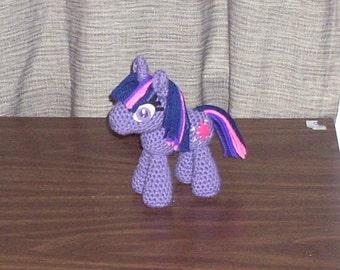 Twilight Sparkle Crochet Plush