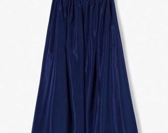 Kenzo blue flowing skirt