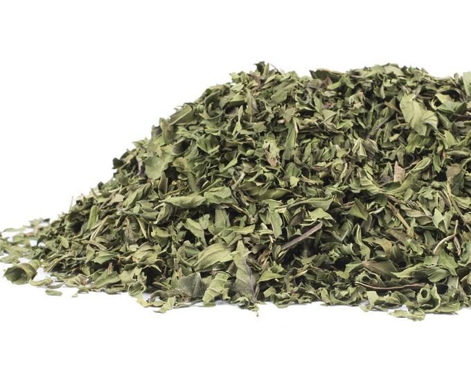 Peppermint Leaf cut and sifted   Mentha piperita   Dried Bulk Herb   1 oz bag
