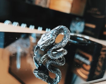 Serpent - Handcrafted Sterling Silver Ring