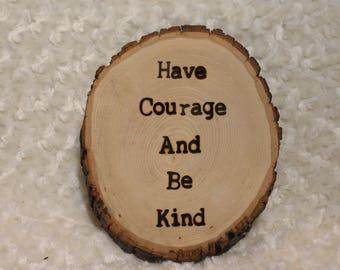 Inspiring Quote Plaque