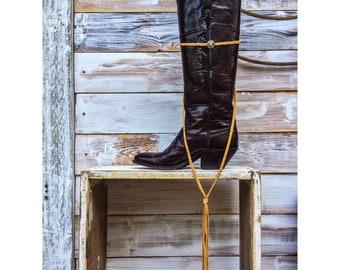 Buffalo Nickel Wrap Choker by the Ranch Wife Co.