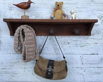 wood shelf, rustic coat rack, entryway organizer, barn wood coat hanger, reclaimed wood shelves wall mount, coat hangers wall mounted rack