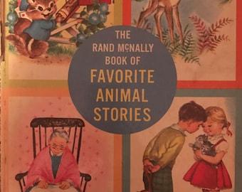 Rand McNally Book of Favorite Animal Stories elizabeth webbe