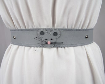 Male Mouse Belt ~ Handmade ~ Only 1 Left!