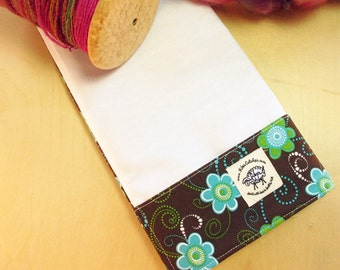 Lap Thing - A Spinners Tool - Blue Flowers