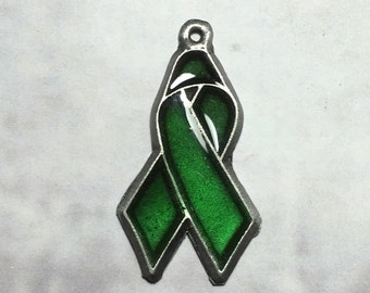 Awareness Ribbon Pendant Charm