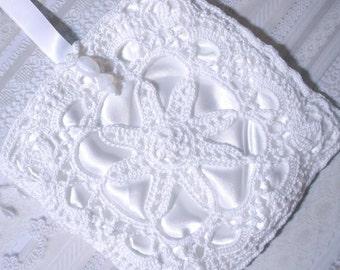 Bracelet mariée dentelle Crochet irlandais