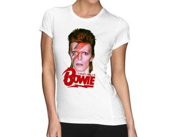 Rest in Peace David Bowie Digital Printed shirt stardust ziggy