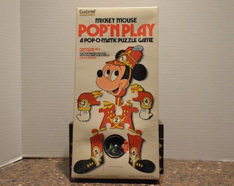 1970's Gabriel Mickey Mouse Pop'n Play Game
