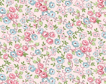 Bleecker Street - Pink 23073-P by QT Fabrics Cotton Fabric Yardage