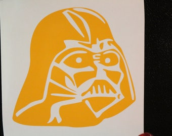 Star Wars Vader Decal Any Size Any Colors