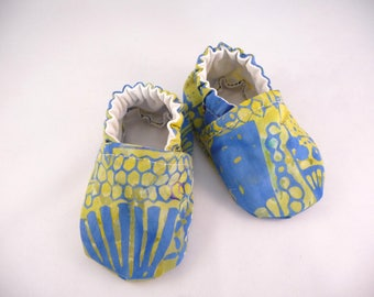 Batik Baby Shoes, Fabric Shoes, Soft Sole Shoes, Handmade Baby Shoes, Cotton Baby Shoes, Baby Accessories, Gift Idea, Baby Shower Gift, Cute