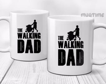 The Walking Dad ( Dead ) - Parody - Funny - Mug Cup Ceramic - Great Gift - 330ml
