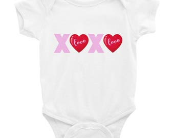 XOXO Infant Bodysuit