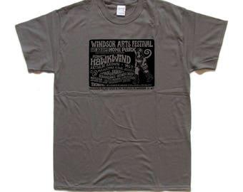 WINDSOR Arts Festival 1972 - HAWKWIND Pink Fairies TRIBUTE T-Shirt