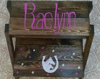 Custom Step Stool