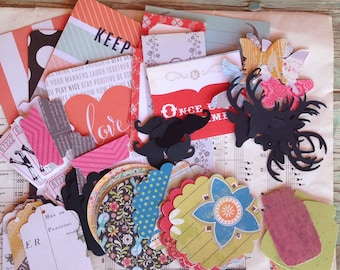 Mish Mash Grab Bag- Papery Goodness Sampler, Project Life, Planners, Card Making, Art Journaling, Mixed Media, Snail Mail, Happy Mail